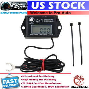 Tachometer Tach Hour Meter Spark Boat Outboard Motor For Mercury Yamaha Johnson