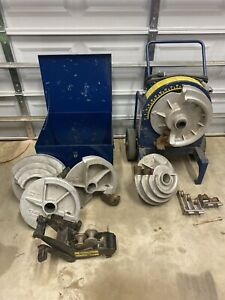Current Tool s 77 Conduit Pipe Bender 1 2 2 Rigid Emt Shoes 555 Ed4u 8200