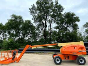 Jlg Telescopic 460sj Boom Lift 4wd Aerial Lift Gasoline Powered Jlg Manlift