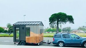 Mobile Office Shop Studio On Wheels And Trailer