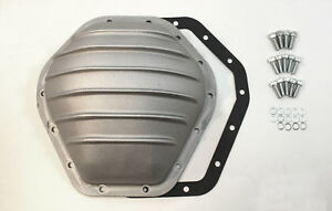 Gm 10 5 Ring Gear Rear Aluminum Satin Differential Cover 14 Bolt