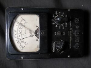 Vintage Hickok Electrical Instrument Co Multimeter Model 955 Untested