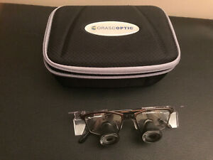 Orascoptic Dental Loupes 2 5x Agnification Ipd 60mm W Case