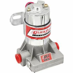 Electric Fuel Pump 105 Gph Street Race Quick Fuel 7 Psi 30 105