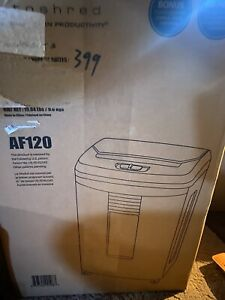 Boxis Autoshred 120 sheet Auto Feed Microcut Paper Shredder