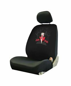 Plasticolor 008652r01 Betty Boop Low Back Universal Fit Car Truck Suv Seat Cover