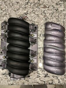 Ls3 Corvette Camaro Intake Manifold And Cover L99 6 2 Lsx Painted Metallic Pearl
