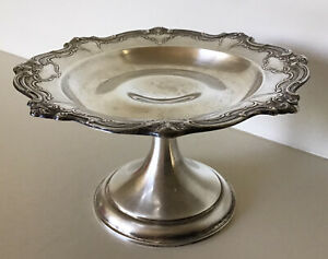Vintage Gorham Sterling Silver 3 1 2 Weighted Compote Chantilly Duchess 740