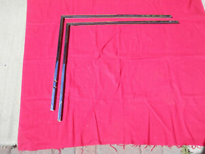 55 57 Chevy 2 Door H t Or Convertible Door Glass Frames L r used