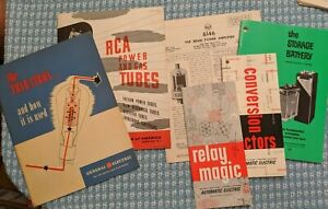 Vintage Electronic Reference Books Catalogs Manuals Handbooks choice