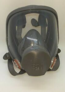3m 6900 Full Face Respirator Large 60921 Niosh Used