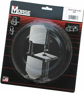 Mk Morse Zclb06 6pti Woodworking Stationary Bandsaw Blade 93 1 2 inch By 1 4 in