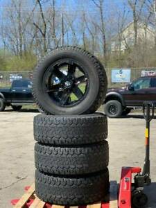Used 20x10 6 Lug Ford F 150 Wheels Tires Package For Lifted Or Leveled