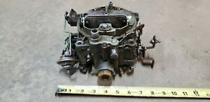 72 1972 Pontiac Carburetor Carb Rochester Quadrajet 4 Barrel 455 7042272