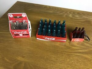 vintage miniature coca cola bottles