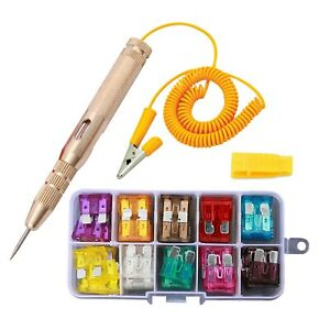 Uilb Car Circuit Tester Pen Auto Car Vehicle Circuit Tester And Automotive Fuse