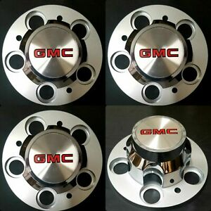 4 New Chevrolet Chevy Gmc Truck 5 Lug 15 15x8 15x7 Rally Wheel Center Hub Caps