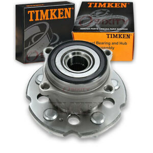 Timken Rear Wheel Bearing Hub Assembly For 2009 2015 Honda Pilot Left Bo