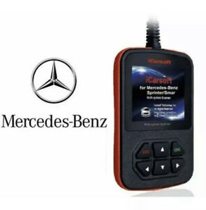 Mercedes Benz Professional Diagnostic Scanner Tool Code Reader Abs Srs Airbag