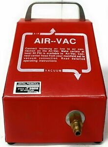 Vacuum Pump Central Pneumatic 3952 Air Vacuum Pump Shop Tools With Manual