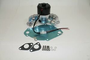 Big Block Ford 429 460 Electric High Volume Water Pump Billet Alum With B plate