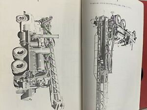 Vintage Schramm Rotadrill Oil Water Well Drill Rig Manual Parts List T66b