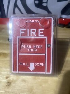 Siemens Hms d New 500 033400 Pull Station Fire Alarm With Free Shipping