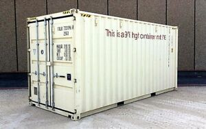 20 Foot New High Cube Shipping Container Cargo Container Conex Box Sea Box
