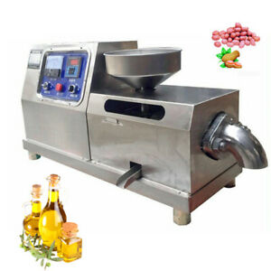 Household Auto Oil Press Machine Oil Expeller Oil Extractor Stainless Steel