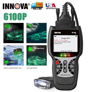 Innova Abs Airbag Automotive Code Reader Oil Bms Diagnostic Tool Obd2 Scanner