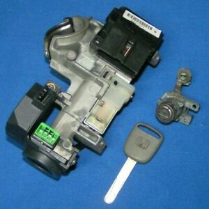 Oem 2003 2007 Honda Accord Ignition Driver Door Lock With Key Auto Trans Only