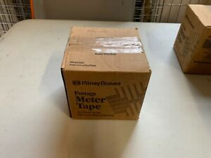 New In Box Pitney Bowes Postage Meter Tape 627 8 3 Rolls