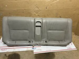 02 06 Acura Rsx Rear Leather Seat Bottom Tan Type S 0729