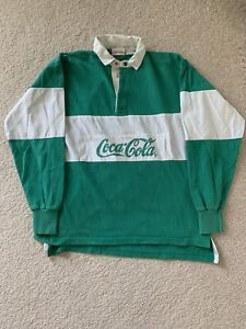 M Coca Cola Polo Rugby L/S Shirt
