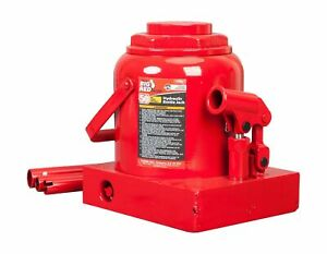 Big Red T95007 Torin Hydraulic Profile Welded Bottle Jack Red 64 3 Pounds 50 Ton