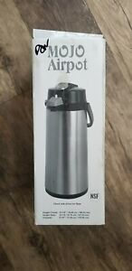 Black Mojo Airpot 2 2 Liter Heavy Duty Glass Vacume Liner Lever Pumping Action
