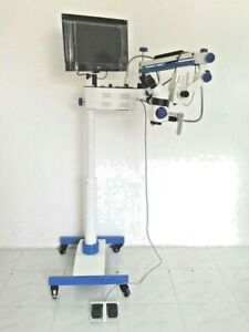 5 Step Dental Ent Ophthalmic Surgical Microscope 0 To 180 With Accessories