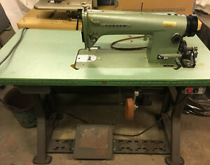 Consew Model 105 Commercial Sewing Machine With 20 X 42 Table