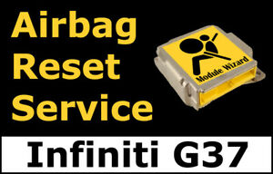 For Infiniti G37 Airbag Module Reset Service Control Unit Computer Srs Rcm