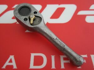 1945 Snap on Tool 3 8 Drive Stubby Ferret Ratchet F 70n Year Mark G government