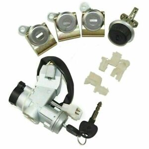 Suzuki Sj410 Sj413 Samurai Gyps Ignition Switch Steering Door Glove Box Lock Set