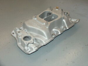 Weiand Team G Sbc Chevy Aluminum Intake Manifold 8004 Dual Plane High Rise