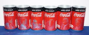 Complete set of 6 Coca-Cola alu STAR WARS UNRELEASED TEST cans 330ml made for UK