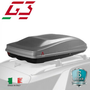 G3 Cargo Box Spark Eco 480 Roof Box Top Cargo Carrier Mount Cargo Storage Large