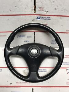 Toyota 3 Spoke Steering Wheel Corolla S Mr2 Supra 4runner Tacoma Red Stitche C12