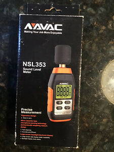 Navac Nsl353 Sound Level Meter 30 130db