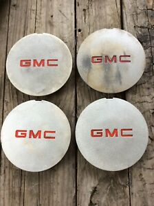 1994 1997 Gmc Jimmy Sonoma Gray 15 Wheel Cover Center Cap 15982660 Set Of Four