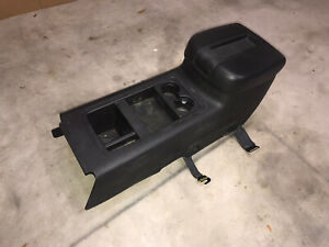 2007 2013 Chevy Silverado Gmc Sierra Lt2 Sle Black Center Floor Console 2014