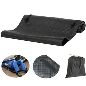 Car Creeper Pad Cushioned Crawling Rolling Mat Pu Leather Cotton Blanket Repair