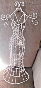 Victorian Style Mannequin Doll Dress Form 17 5 Stand Miniature Sewing Jewelry
